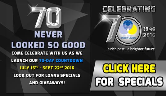Anniversary specials Banner