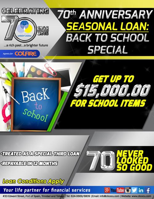 Back to school website flyer