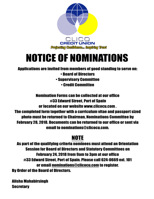 Notice-of-Nominations-WEBSITE - Clico Credit Union  Projecting